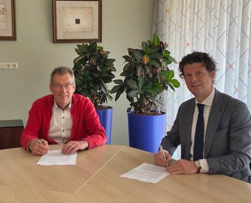ondertekening overeenkomst gemeente Valkenswaard Hof aan de Dommel